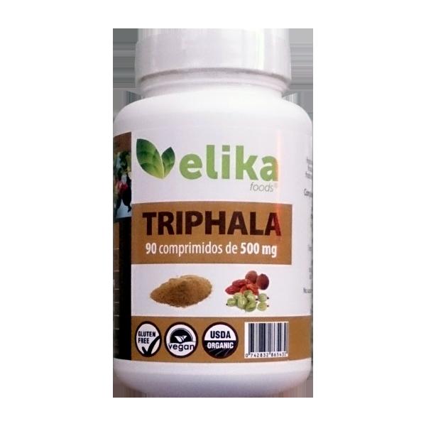 90 Comprimidos de 500mg (Triphala - Elikafoods ®)