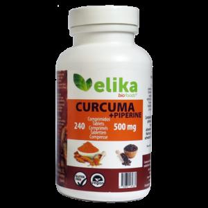 240 Comprimidos de 500mg (Curcuma - Elikafoods ®)