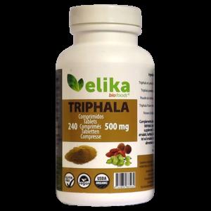 240 Comprimidos de 500mg (Triphala - Elikafoods ®)